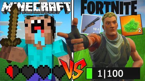 minecraft noob  fortnite noob youtube