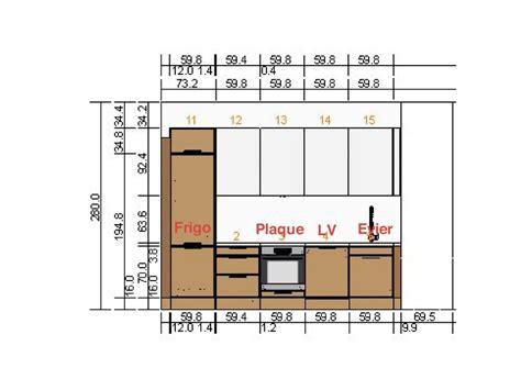 hauteur prise plan de travail cuisine normes électriques pour cuisine dans un appartement en