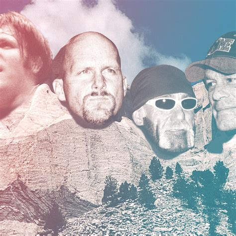 mount rushmore  wwe superstars    top