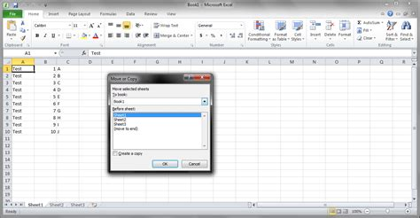 move  copy sheets  excel easily