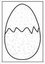 Egg Dinosaur Coloring Eggrolls Template Lazy Easter Loading Clipartmag sketch template