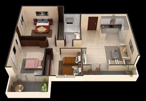 Three Bedroom Apartment Design