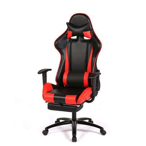 racing gaming chair high back computer recliner office