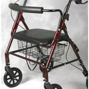 medline bariatric rollator walker seat 400 lb capacity 171 wheel chairs and walkers wheel