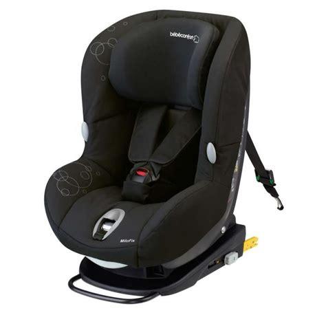 si鑒e auto groupe 1 2 3 pivotant bebe confort si 232 ge auto milofix isofix groupe 0 1 achat