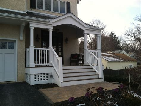 one level house plans with porch portico designs that suits the architecture of your home