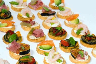 prawn cocktail canapes canapes recetas recetas para las entradas