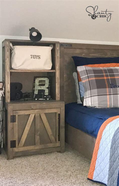 diy bookshelf nightstands shanty  chic