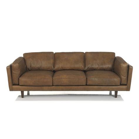 alinea canapé cuir 17 meilleures idées à propos de canapé cuir 3 places sur