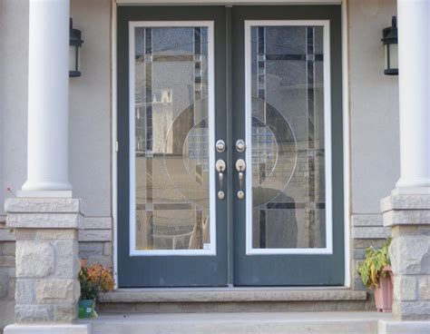 door glass inserts decorative glass door inserts the types and benefits