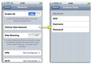 what is gprs on iphone setup apn settings on iphone and without jailbreak