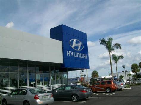 Napleton Hyundai West Palm by Napleton S West Palm Hyundai Car Dealership In West