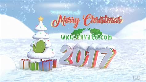 Christmas Logo After Effects Template by Christmas Snow Logo After Effects Template Videohive