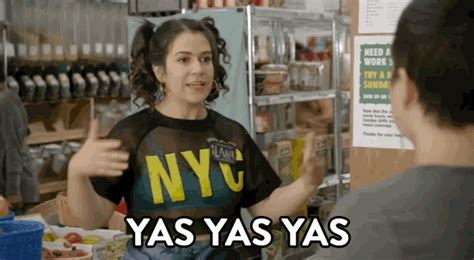 Yas Meme - comedy central agree gif by broad city find share on giphy