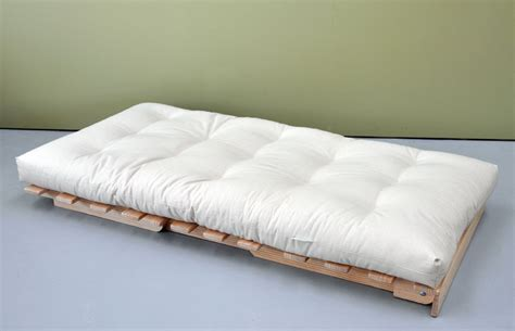 solid bed base organic cover cotton wool futon mattress innature