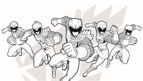 Power Rangers Printable Coloring Pages 2595480