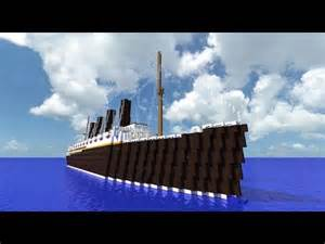 minecraft rms lusitania youtube