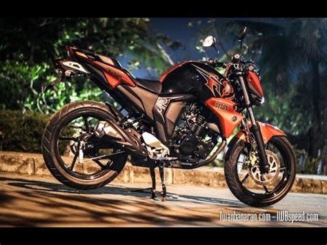 Yamaha Byson Fi Hd Photo by Yamaha Fz16 Byson 2015 Customized And Modified In Hd Doovi