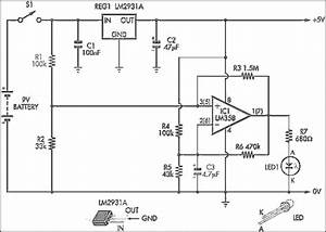 Low Battery Indicator Circuit Diagram  62281