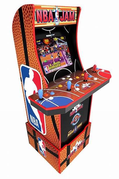 Arcade Nba Jam Cabinet Arcade1up Nbajam Play
