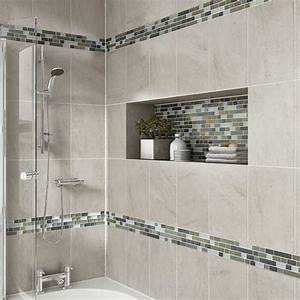 Details photo features castle rock wall tile with
