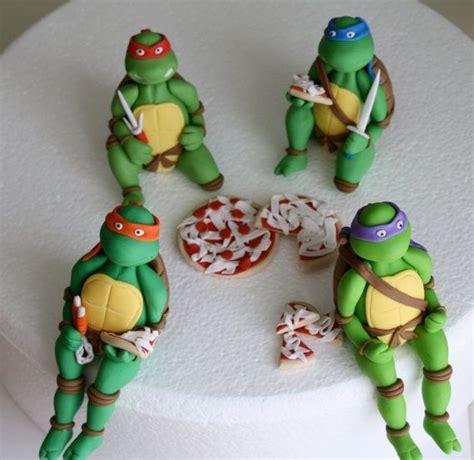 ninja turtle cake topper ideas  pinterest
