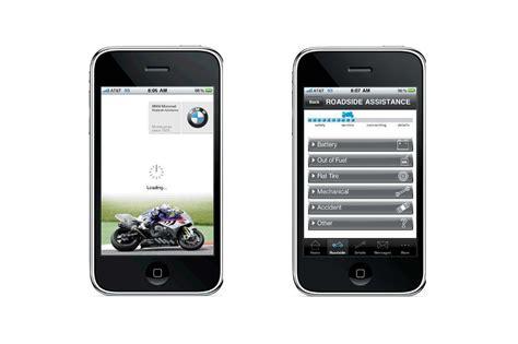 Bmw Roadside Assistance Phone by Bmw Motorcycles Launches Roadside Assistance Iphone App