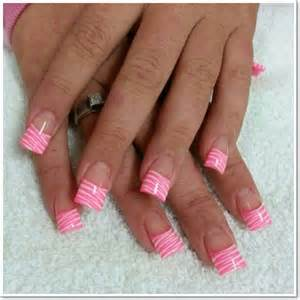 Zebra print nails design ideas