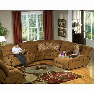 Catnapper enterprise 4 piece chenille reclining sectional for In home furniture enterprise