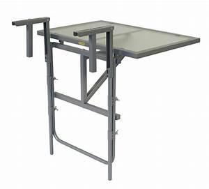 Tisch Für Balkongeländer : balkonh ngetisch balkontisch balkonklapptisch 60x40cm ~ Whattoseeinmadrid.com Haus und Dekorationen