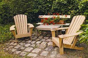 Fauteuil Bois Exterieur : un fauteuil adirondack bois le bouvet ~ Melissatoandfro.com Idées de Décoration