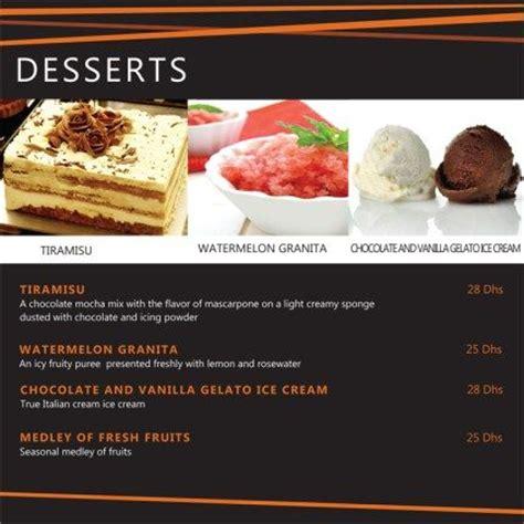 our italian dessert menu click our website for more