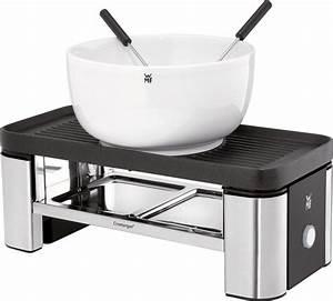 Raclette Und Fondue Set : wmf raclette und fondue set k chenminis f r zwei 3 ~ Michelbontemps.com Haus und Dekorationen