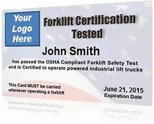 forklift certificate pdf download search results With forklift licence template