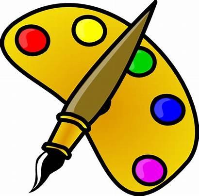 Artist Clipart Easel Clip Cartoon Paint Painting