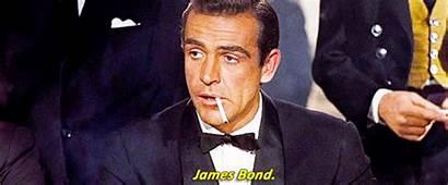 Bond James Smoking Cigar Smoke Animated Exposure