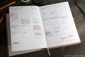 Selber Machen Zeitschrift : mein diy terminplaner bullet journal mamahoch2 ~ Watch28wear.com Haus und Dekorationen