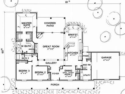 Plan Plans Mitchell Floor Rear Mud Floorplans