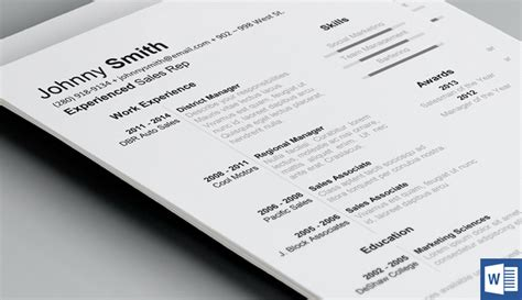 Resume Psdkeys by History Resume Template Resume Templates On Creative Market