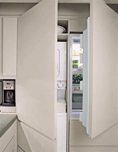 astuce deco cuisine comment intégrer le lave linge dans intérieur 31 idées