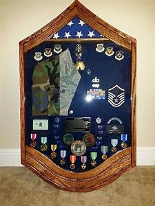 Air Force Ribbon Chart Pretty Awesome Shadow Box Airforce