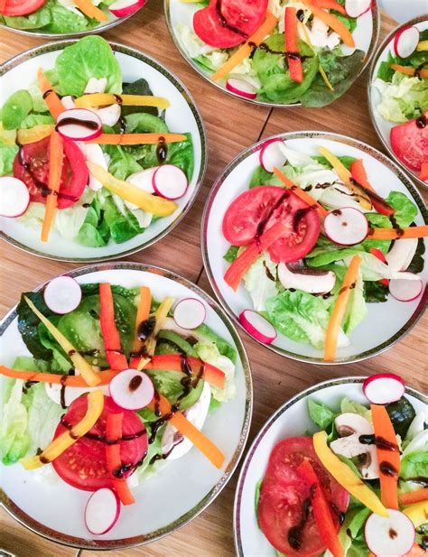 cuisine casher salade de crudités