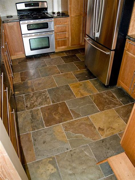 slate kitchen floor tiles sensible choice kitchen floor tiles for finish 5319