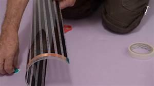 plancher chauffant electrique sous stratifie flottant With film chauffant électrique parquet flottant