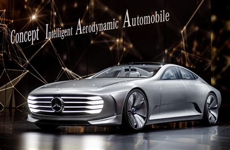 Mercedes BenzCar : Mercedes-benz Concept Iaa Changes Shape For Better Efficiency