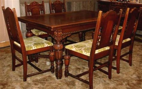 Price My Item Value Of Antique Dining Room Set With Sideboard