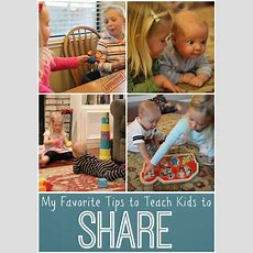 My Favorite Tips To Teach Kids To Share  To Share, Its Okay And Toddlers