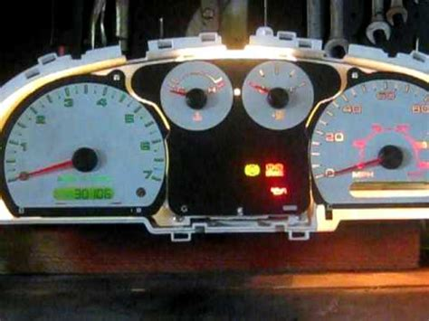security system 2009 ford ranger instrument cluster 2005 ford ranger gauge cluster bench test youtube