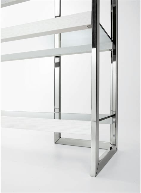 Stainless Steel Bookcase Dipsy By Gallotti&radice Design