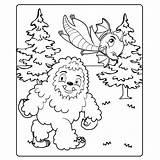 Yeti Kleurplaten Washimals Draakje Leuk Voor sketch template